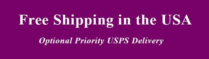optional priority USPS delivery